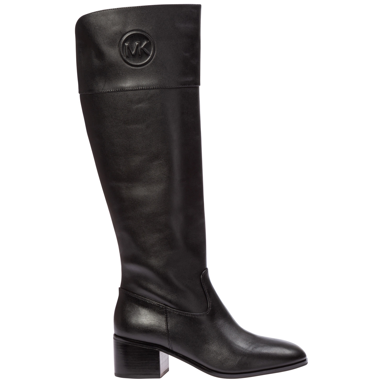 Michael Kors Boots WOMEN'S LEATHER HEEL BOOTS DYLYN