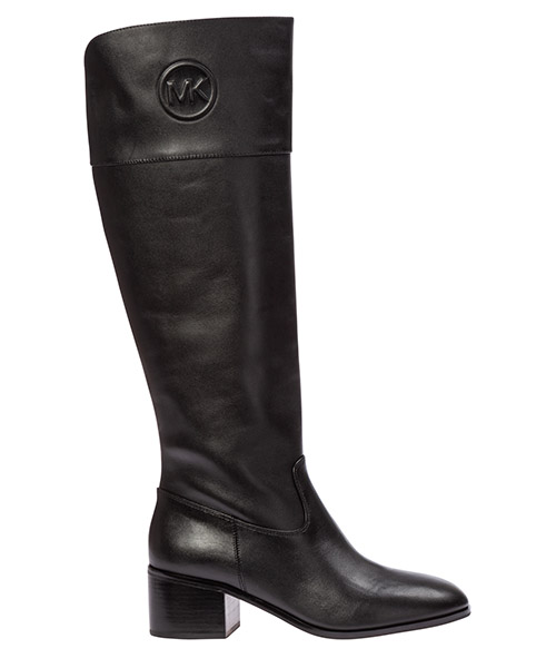 Knee high boots Michael Kors dylyn 40f9dymb5l nero