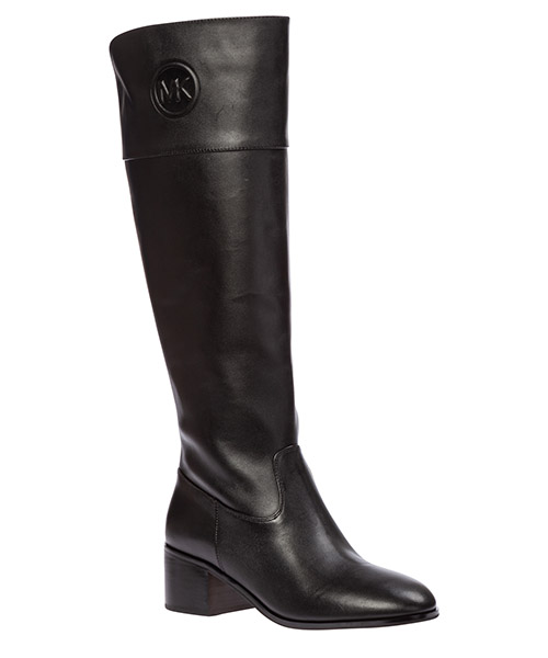 Women's leather heel boots dylyn secondary image