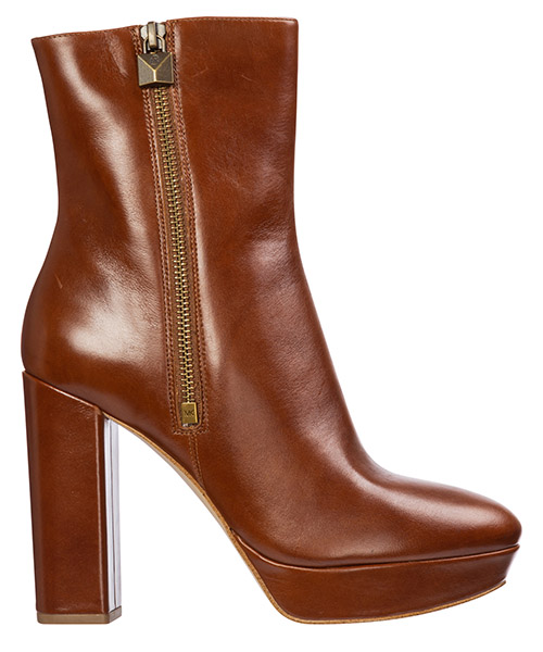 Heeled ankle boots Michael Kors frenchie 40f9frhe9l marrone