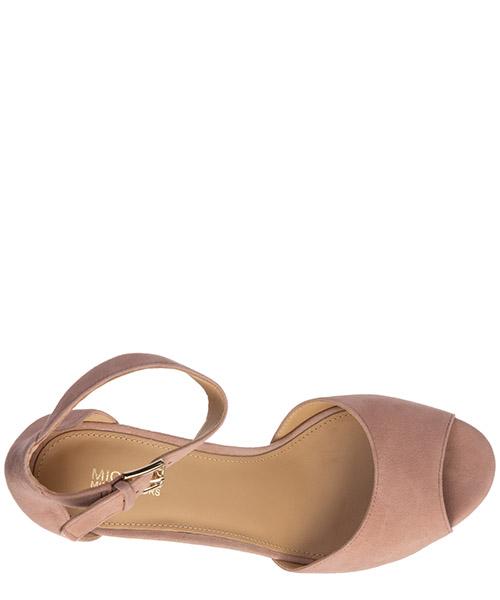 Damen wildleder plateau sandalen sandaletten petra secondary image