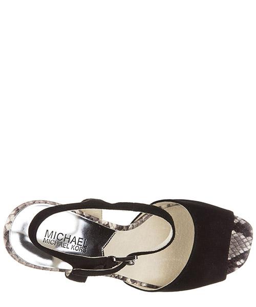 Damen wildleder sandalen mit absatz sandaletten trish secondary image