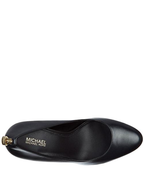 Escarpins chaussures femme à talon en cuir antoniette secondary image