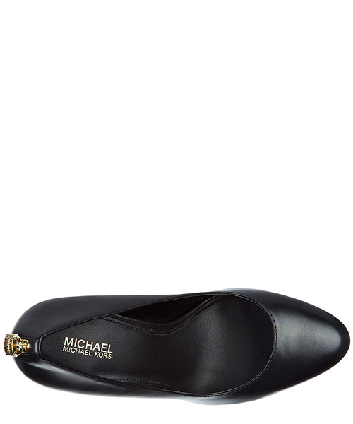 Women's leather pumps court shoes high heel antoniette secondary image