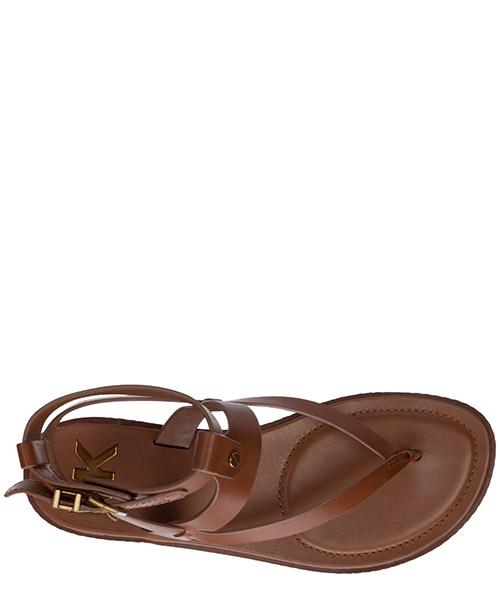 Damen leder sandalen sandaletten  pearson secondary image