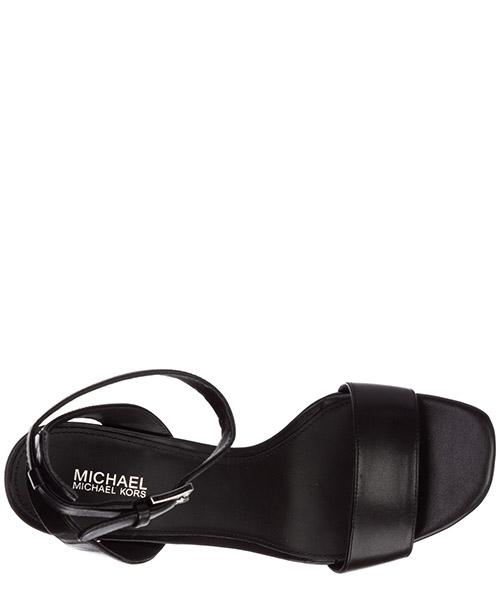Damen leder sandalen mit absatz sandaletten petra secondary image
