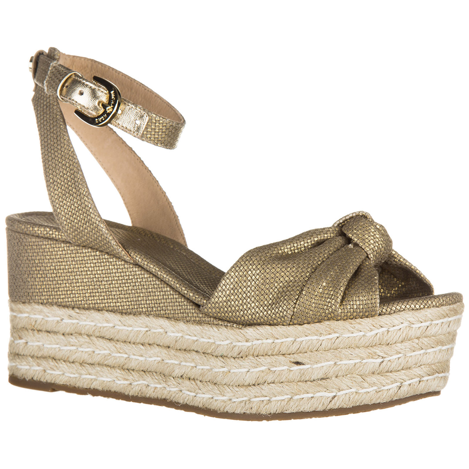 Zeppe sandali donna in cotone maxwell mid bTCT8oqNw