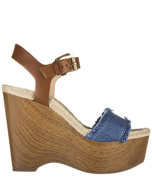 Wedge sandals Michael Kors Leni 40S6LEMA1D marrone