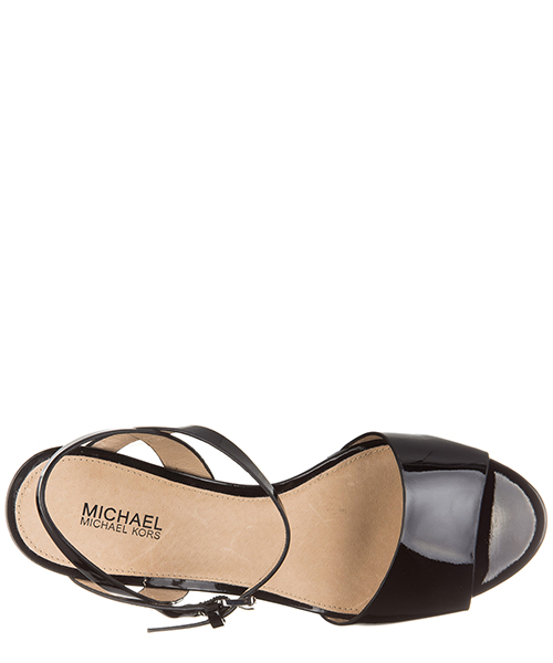Damenschuhe sandals keilabsatz leder wedges leonora secondary image