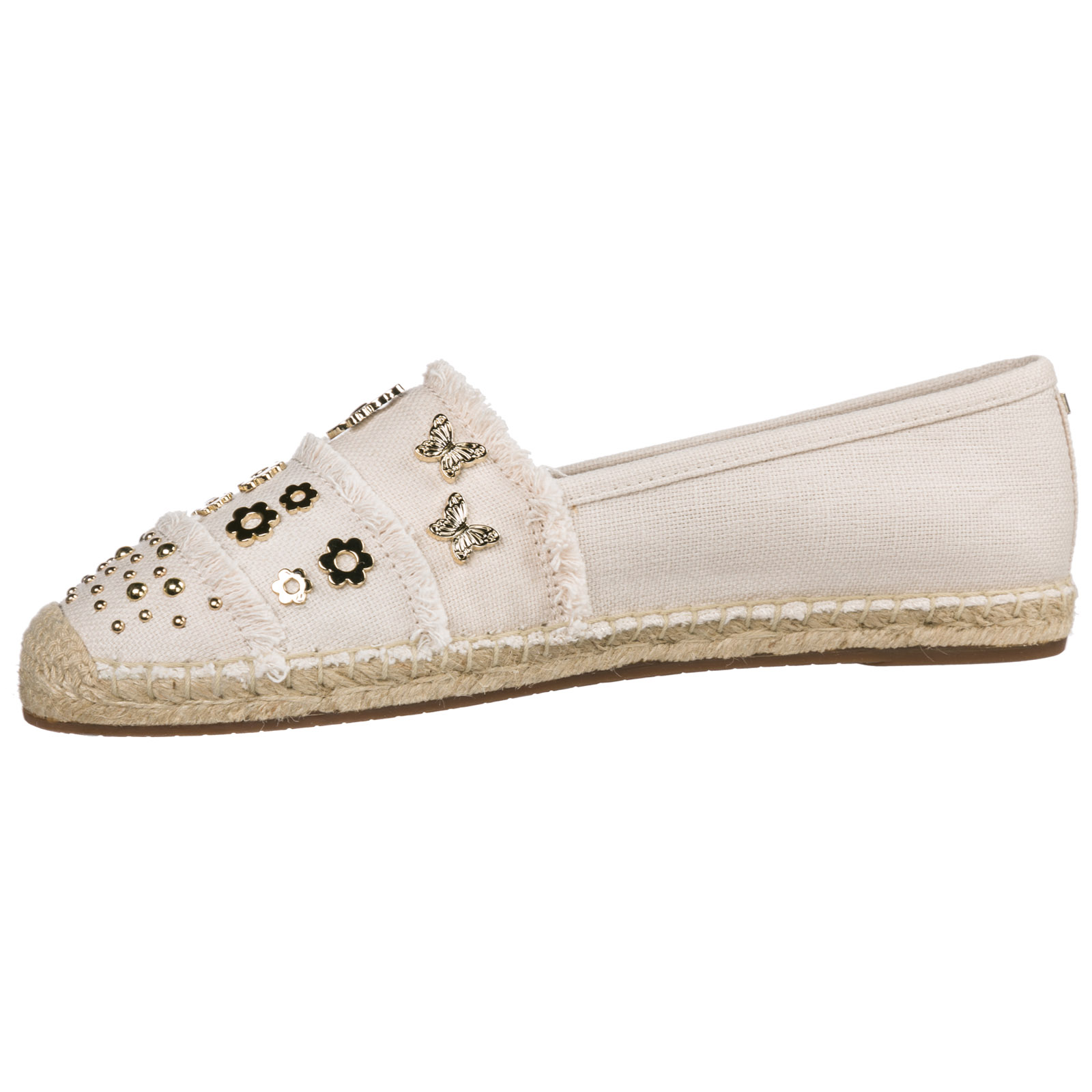 Women's cotton espadrilles slip on shoes tibby