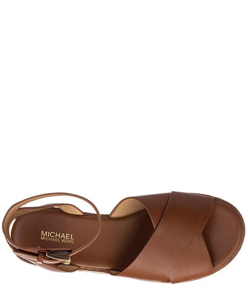 Damen leder sandalen sandaletten  abbott secondary image