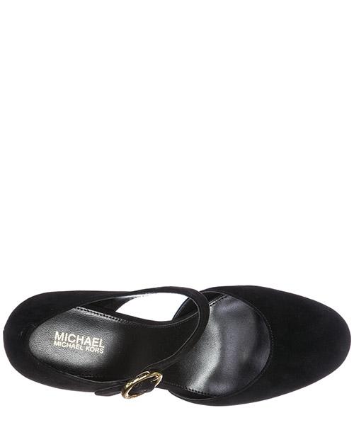 Women's suede pumps court shoes high heel alana secondary image