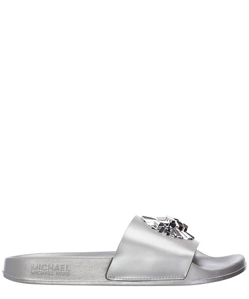 Chancla Michael Kors rory 40T8ROFA1M 29040SI argento