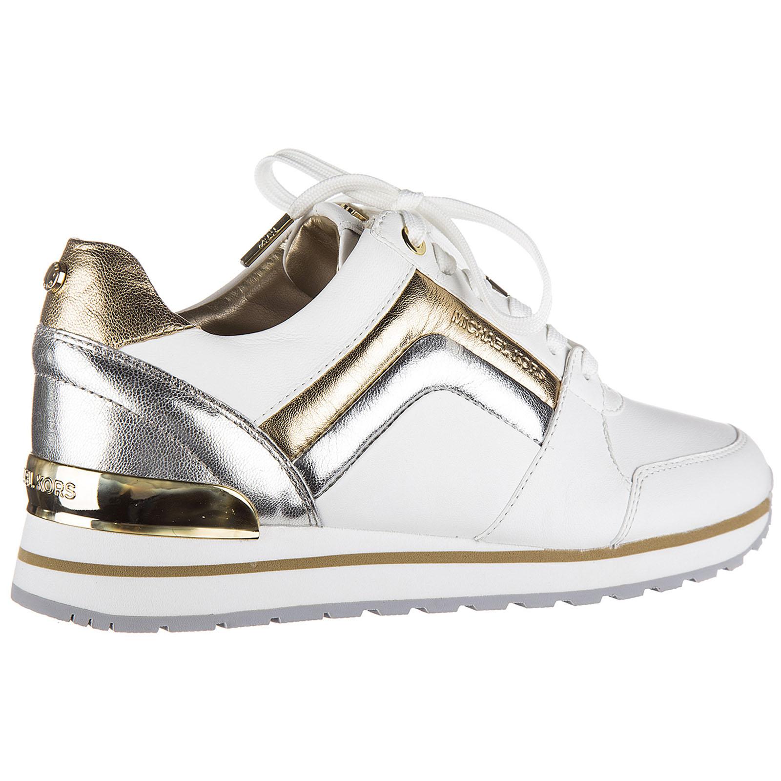 Chaussures baskets sneakers femme en cuir