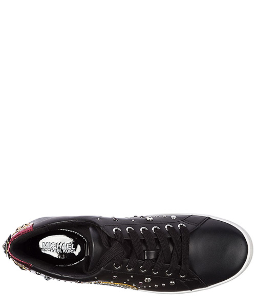 Scarpe sneakers donna in pelle poppy lace secondary image