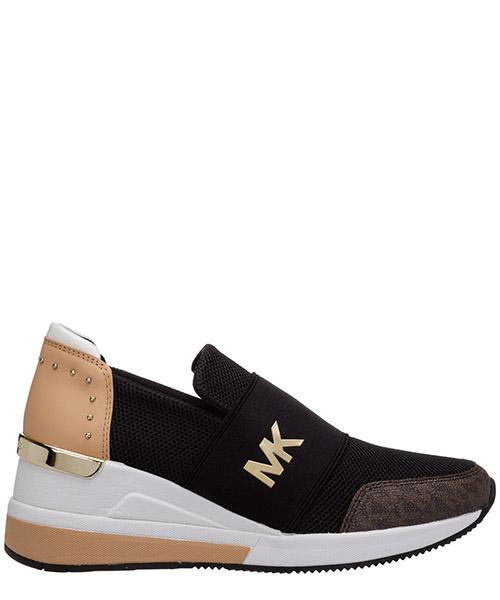 Zapatillas de cuña Michael Kors felix 43T0FXFS4D987 nero