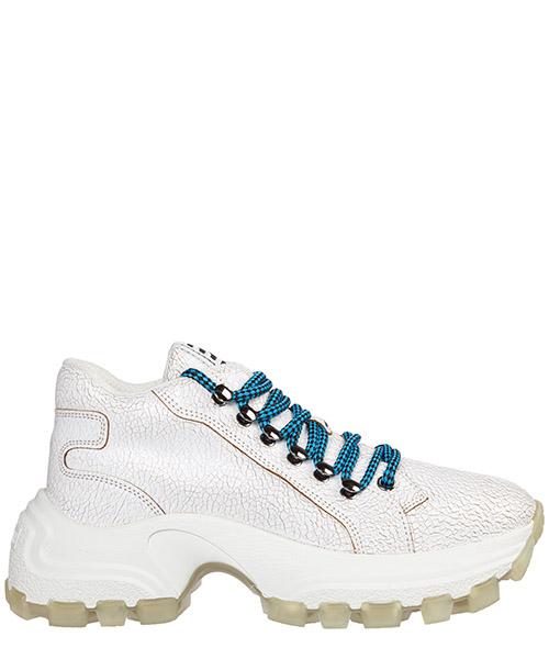 Sneakers Miu Miu craquelé 5e766c3l18f0009 bianco