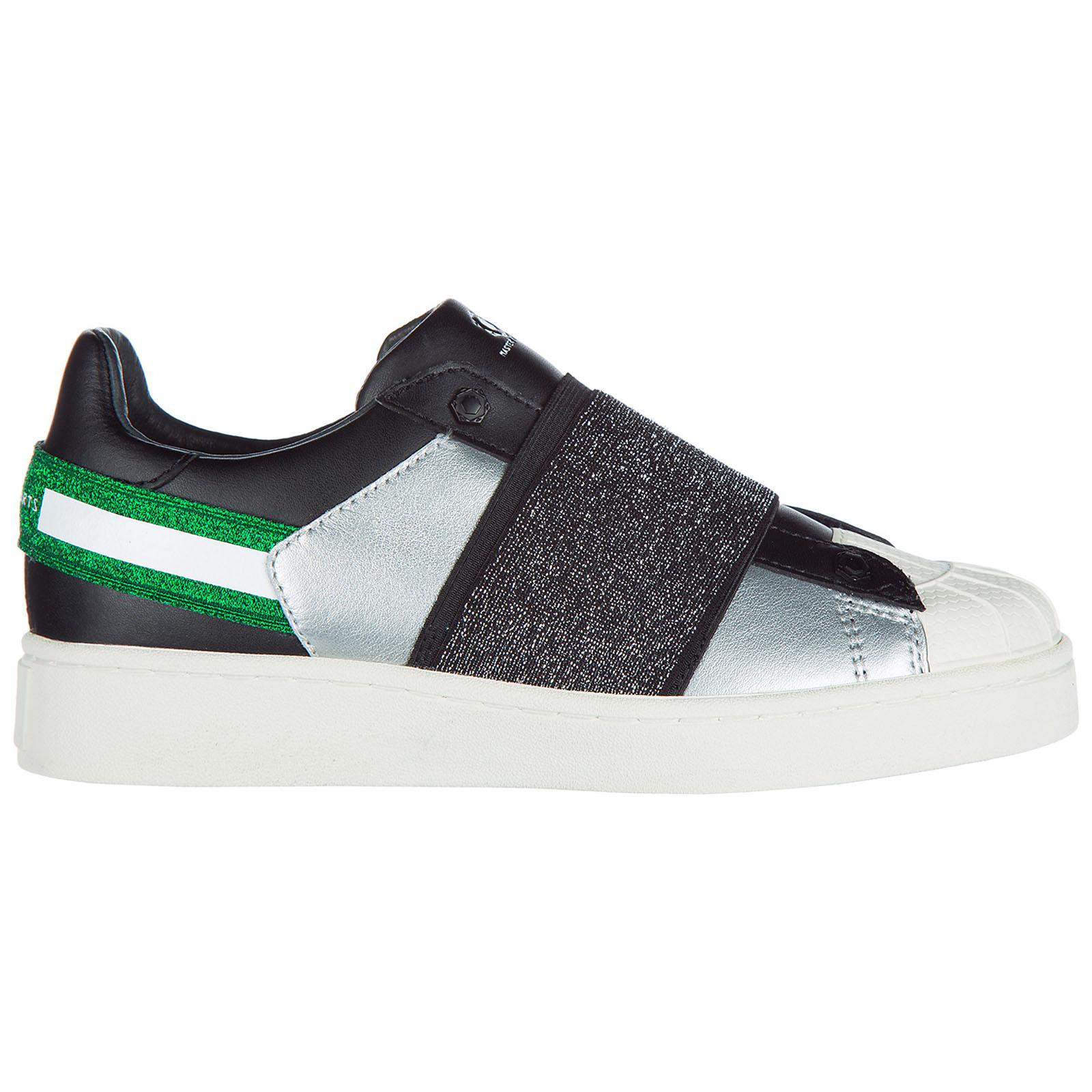 Slip on donna in pelle sneakers