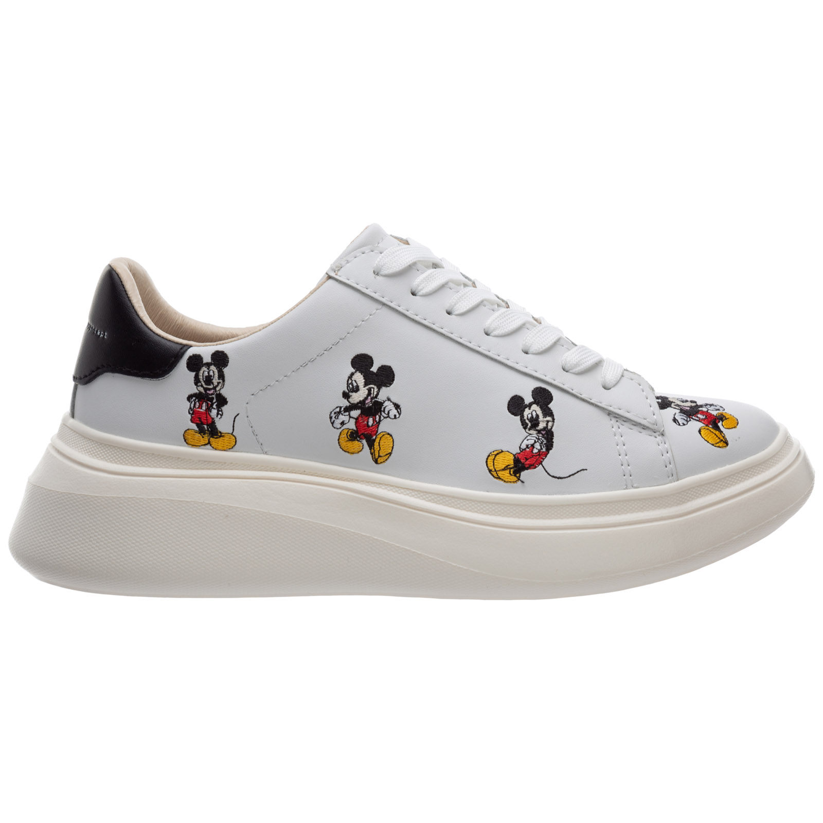 Moa Master Of Arts Leathers WOMEN'S SHOES LEATHER TRAINERS SNEAKERS DOUBLE GALLERY