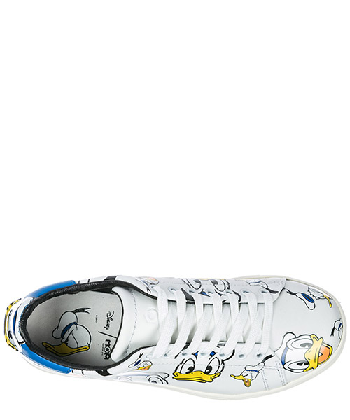 Scarpe sneakers donna in pelle donald secondary image