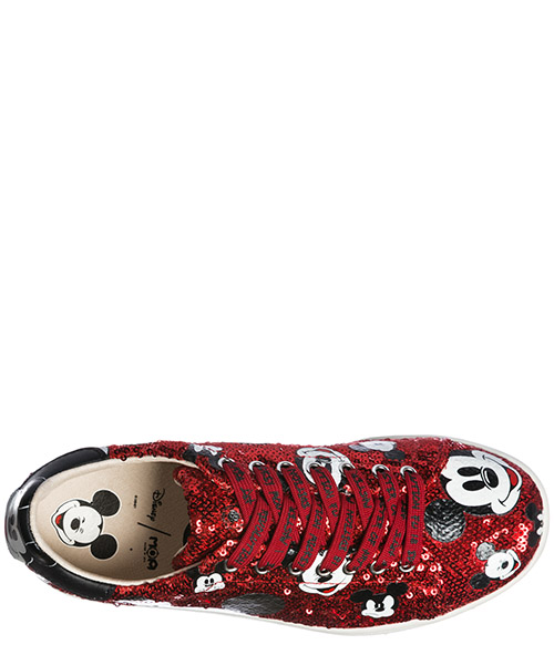 Zapatos zapatillas de deporte mujer en piel disney mickey mouse secondary image