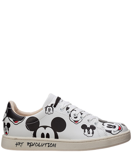 Sneaker Moa Master of Arts disney mickey mouse md263cco bianco