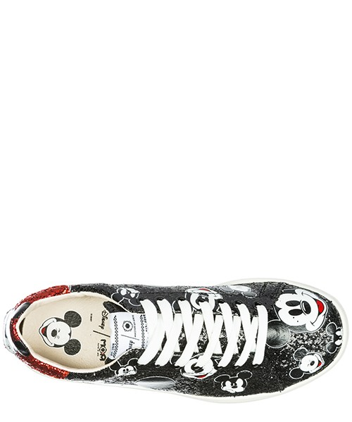 Women's shoes leather trainers sneakers disney secondary image