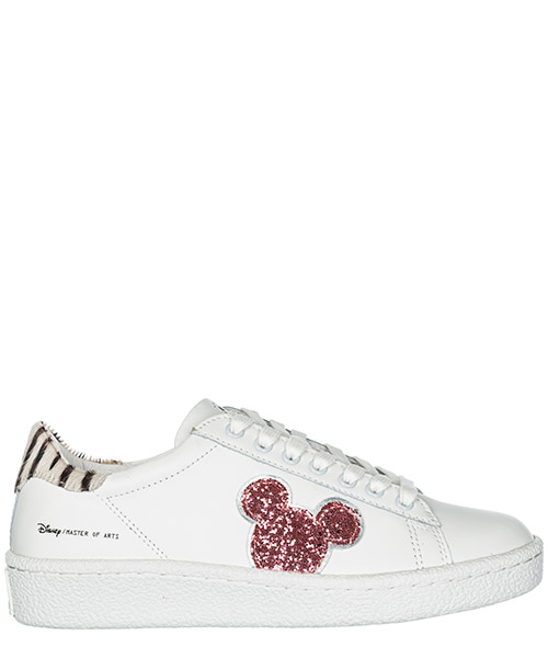 Turnschuhe Moa Master of Arts Disney Mickey Mouse MD300 white / pink
