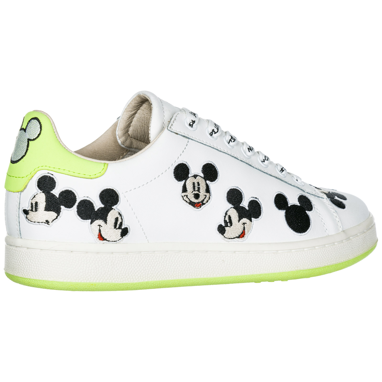 Scarpe sneakers donna in pelle disney mickey mouse