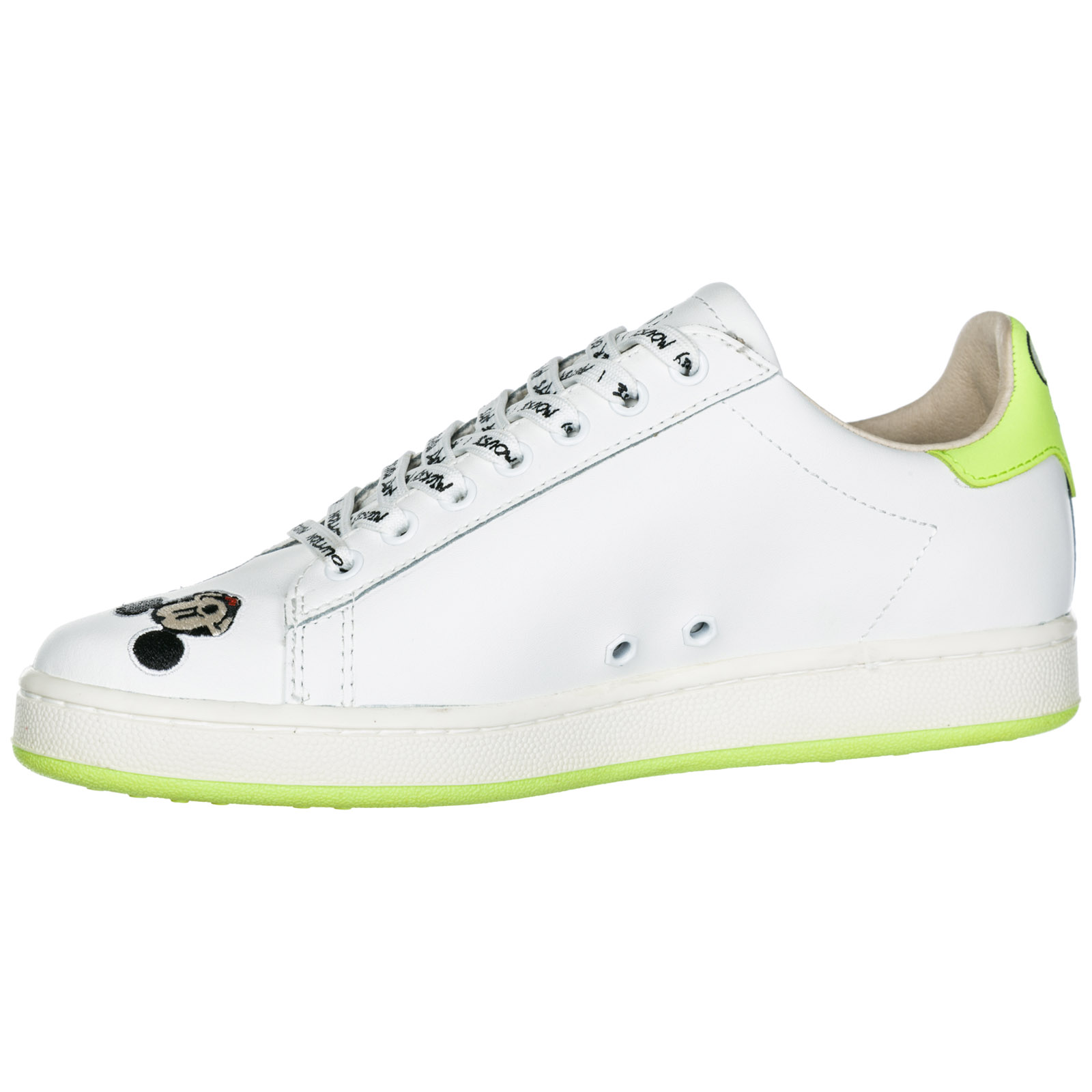 Sneakers Moa Master of Arts Disney Mickey Mouse MD310 white   green ... 8bcacc7b283