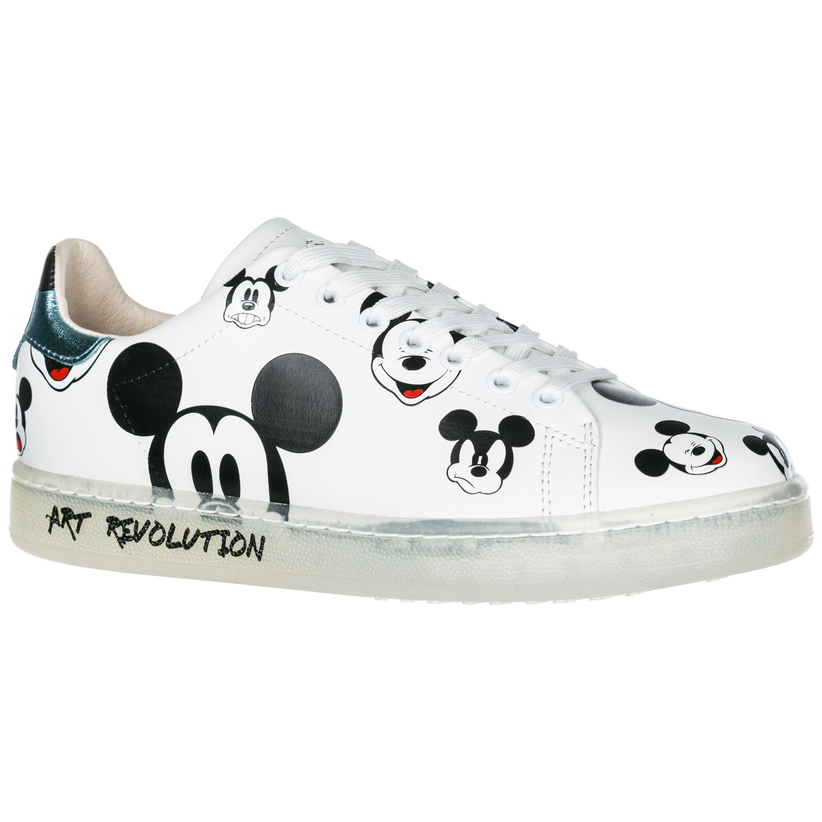 Sneakers Moa Master of Arts Disney Mickey Mouse MD313 white  4a6edb75056