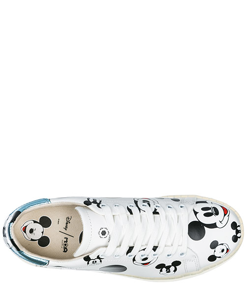 Scarpe sneakers donna in pelle disney mickey mouse secondary image