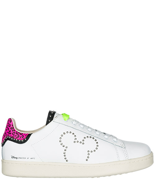 Sneakers Moa Master of Arts Disney Mickey Mouse MD316 white / pink