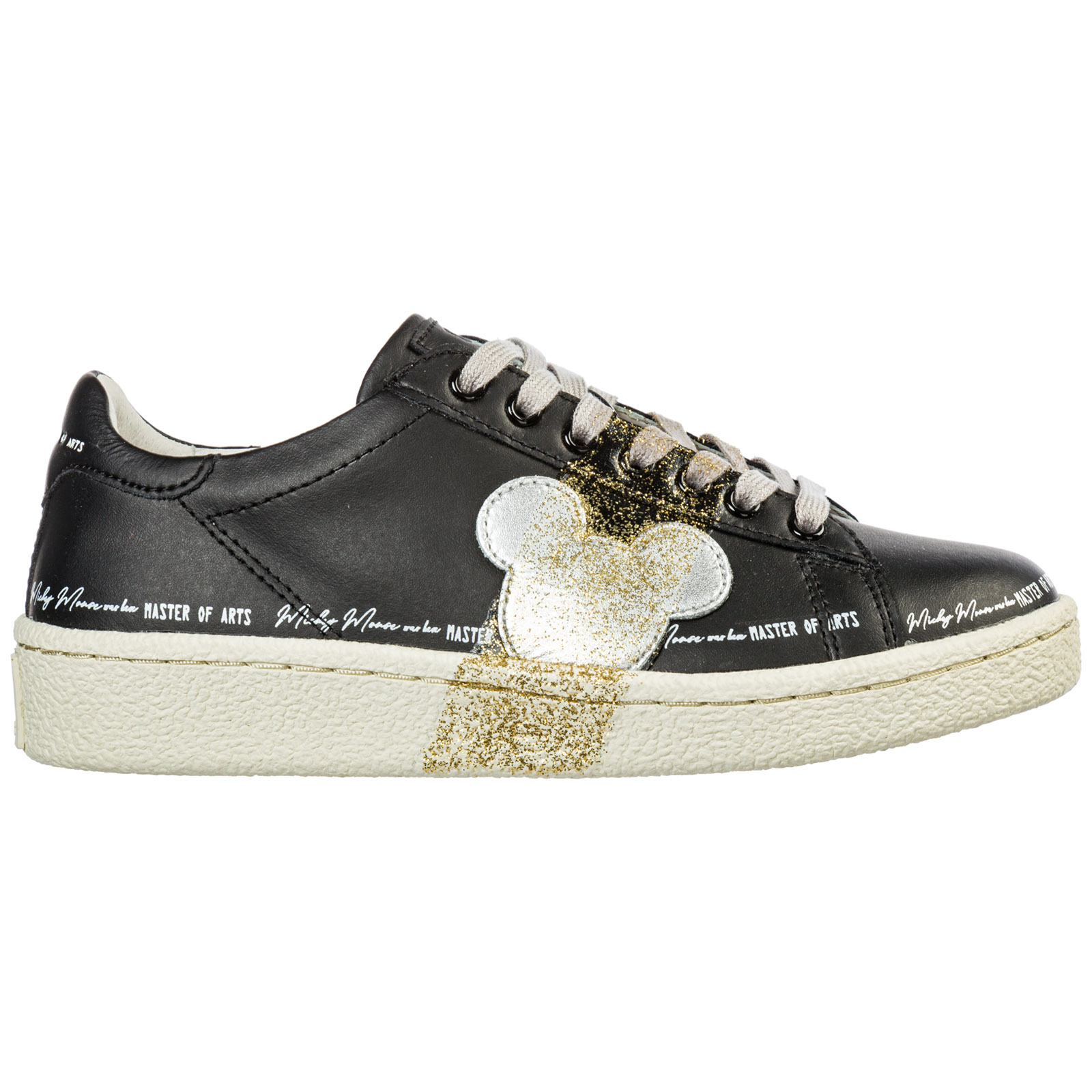 design senza tempo 0bd70 b9b1b Women's Shoes Leather Trainers Sneakers in Black