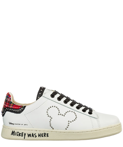 Sneakers Moa Master of Arts Disney MD372 bianco