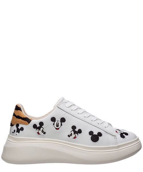 Sneaker Moa Master of Arts disney mickey mouse md477 bianco