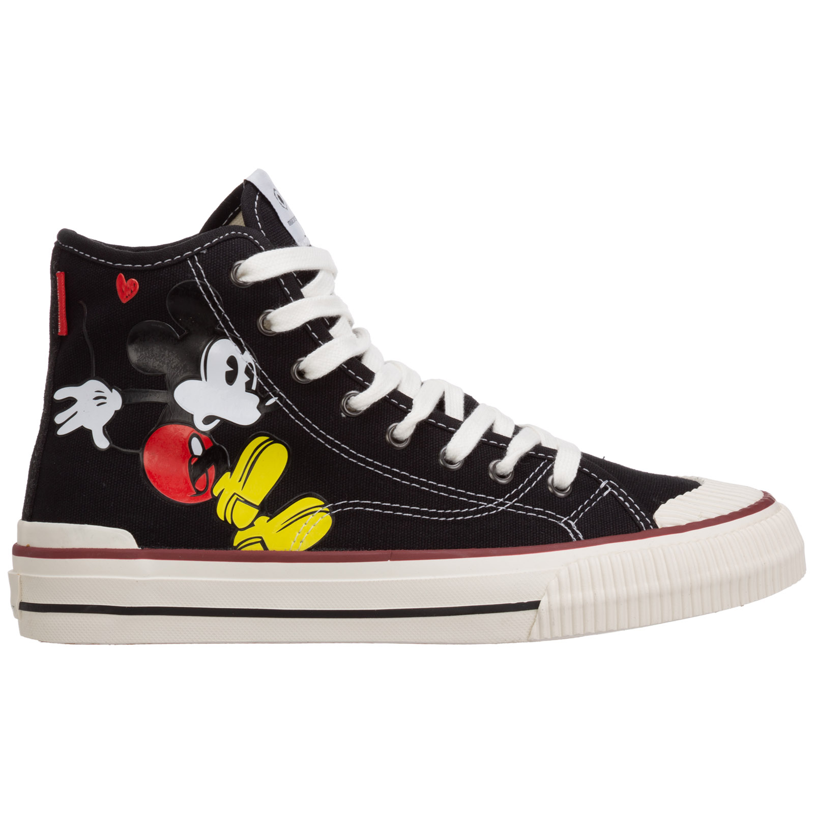 Moa Master Of Arts WOMEN'S SHOES HIGH TOP TRAINERS SNEAKERS  DISNEY MICKEY MOUSE