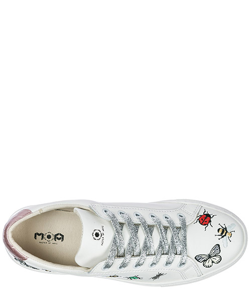 Women's shoes leather trainers sneakers victoria bugs secondary image
