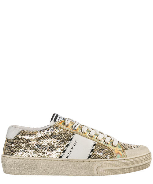 Zapatillas  Moa Master of Arts MP923 gold glitter