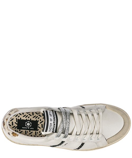 Chaussures baskets sneakers femme en cuir secondary image