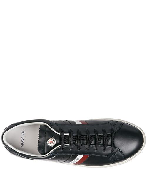 Zapatos zapatillas de deporte hombres en piel la monaco secondary image