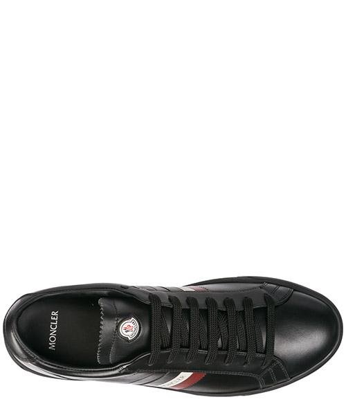 Men's shoes leather trainers sneakers la monaco secondary image