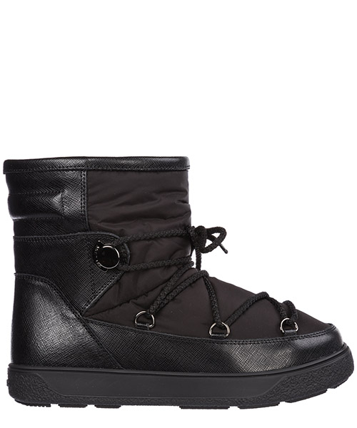 Snow boots Moncler Stephanie 20315 01529 999 nero