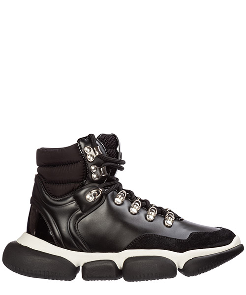 Высокие кроссовки Moncler brianna 09a205680001aj0999 nero