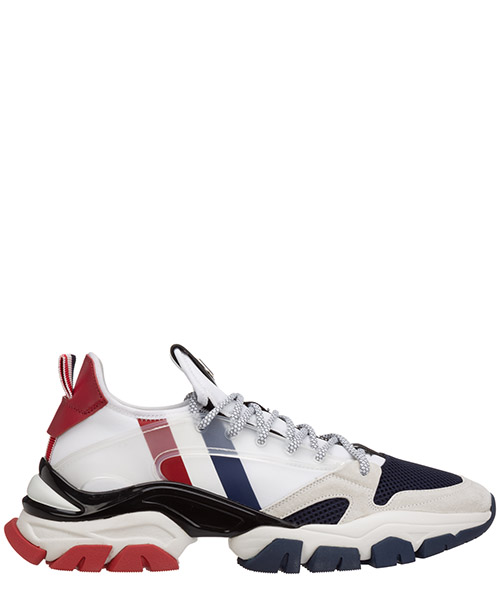 Sneakers Moncler trevor 09A4M7164002S16002 bianco