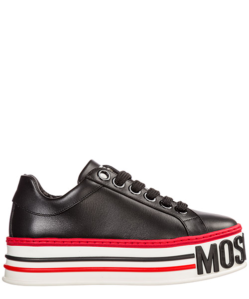 Wedge sneakers Moschino MA15045G18MF000A nero