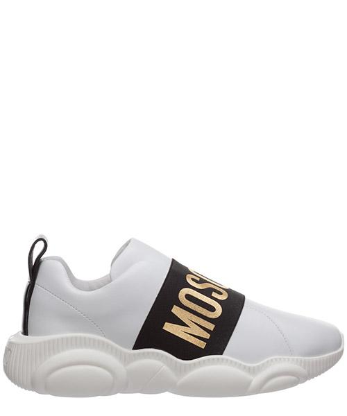 Sneakers Moschino teddy MA15073G1BMFL10A bianco