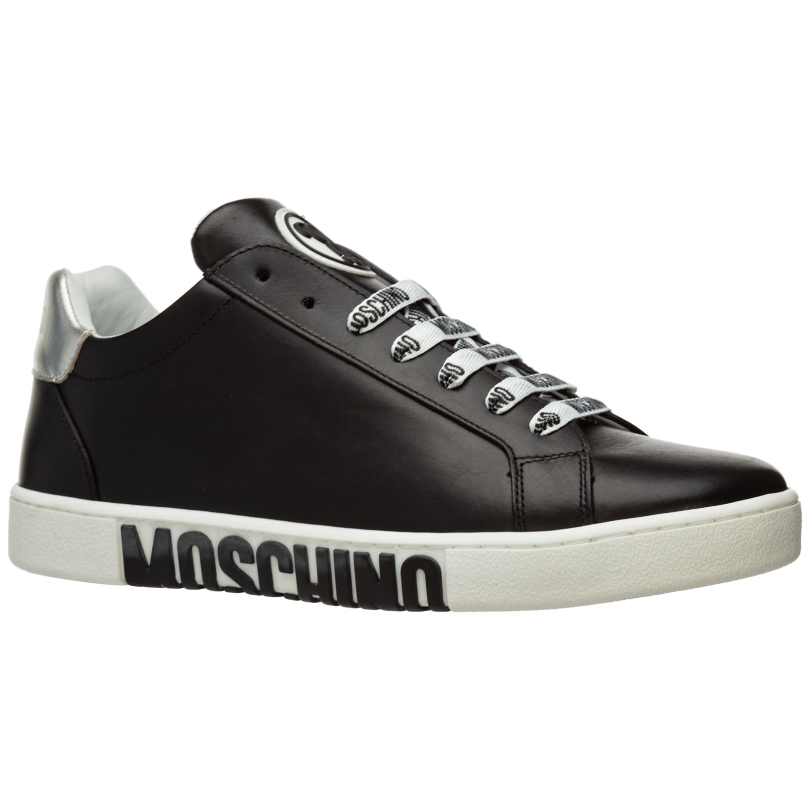 Sneakers Moschino double question mark