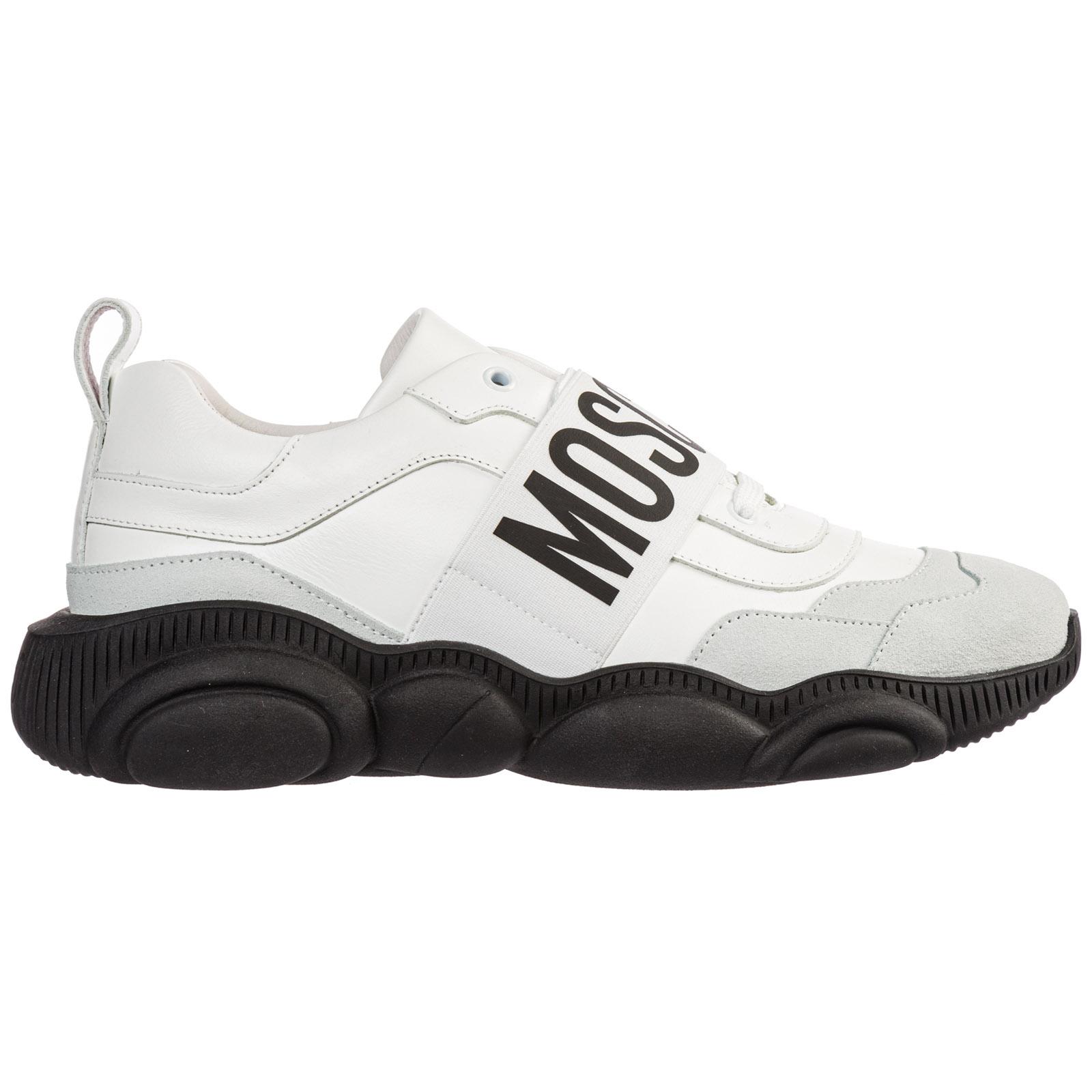 best sneakers 39489 331d5 Scarpe sneakers uomo in pelle teddy run