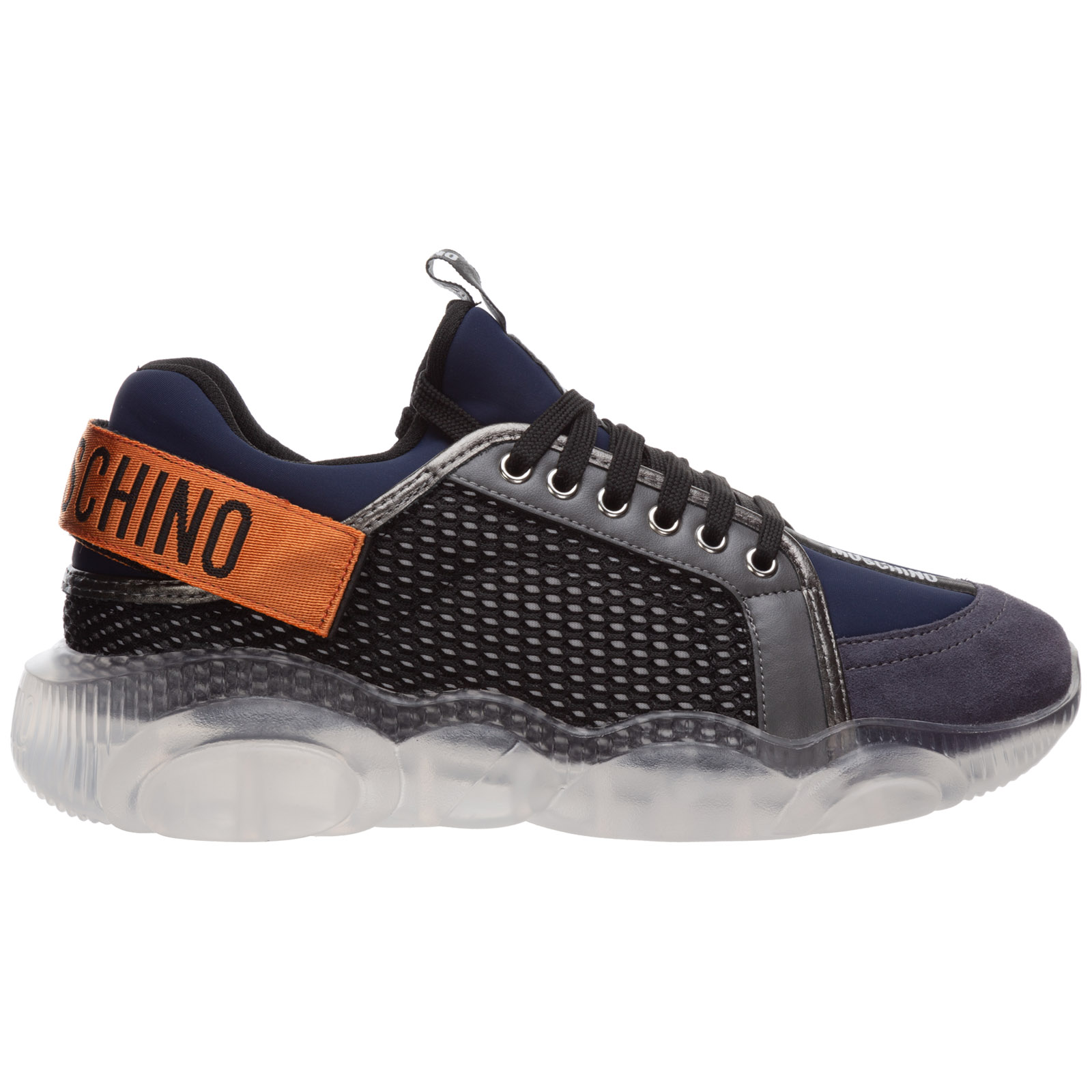 Moschino MEN'S SHOES TRAINERS SNEAKERS  TEDDY ORSO